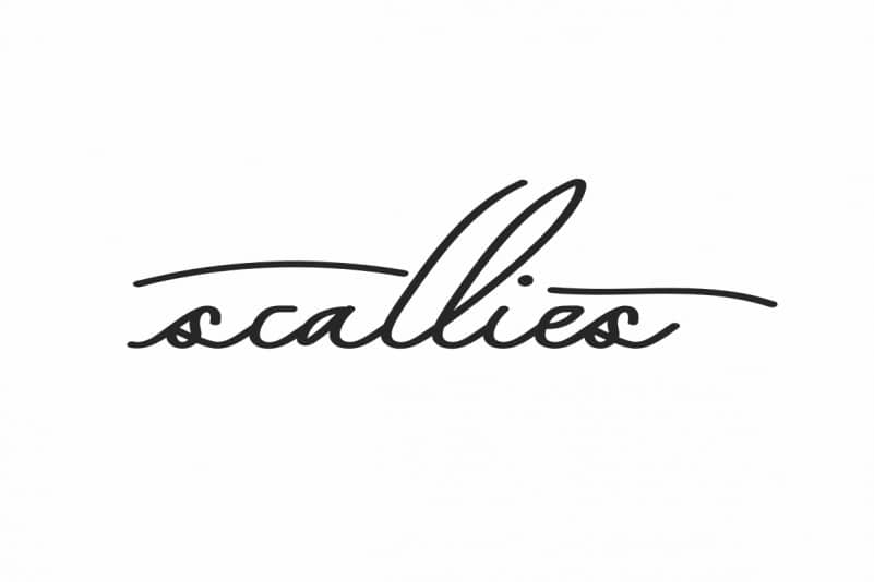 Scallies Signature Font
