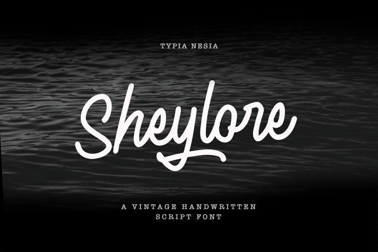 Sheylore - Vintage Handwritten