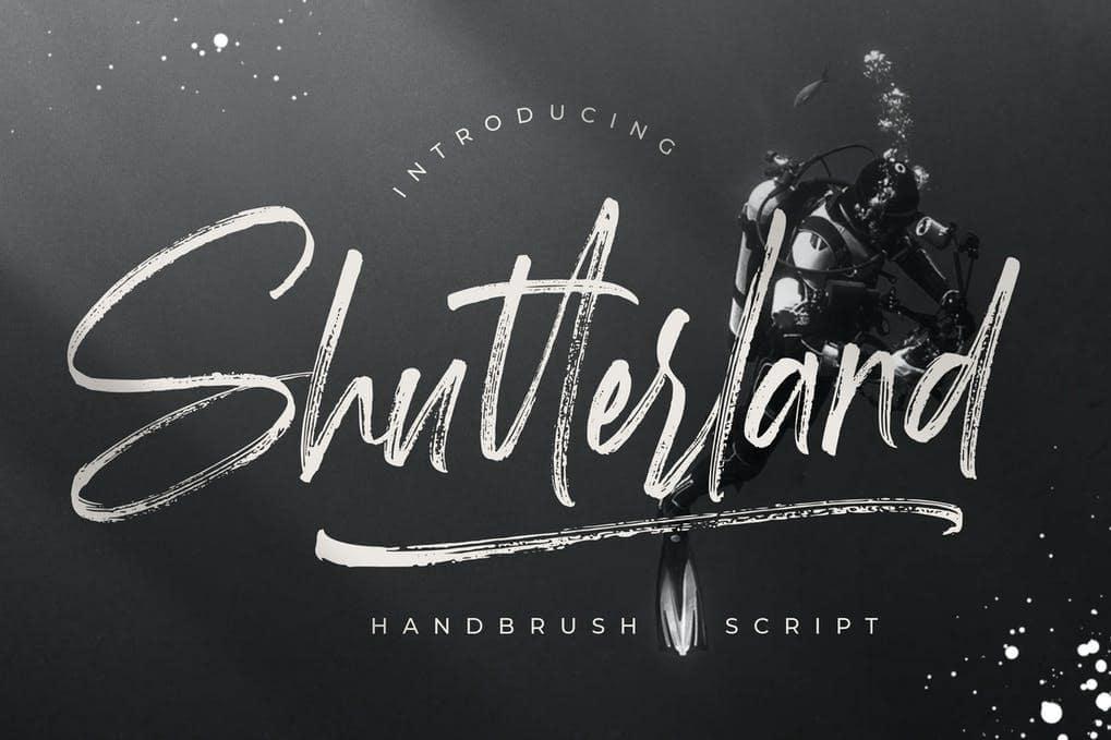 Shutterland Handbrush Script