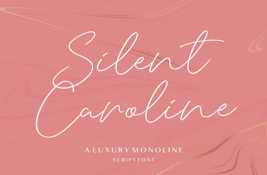 Silent Caroline Script Font