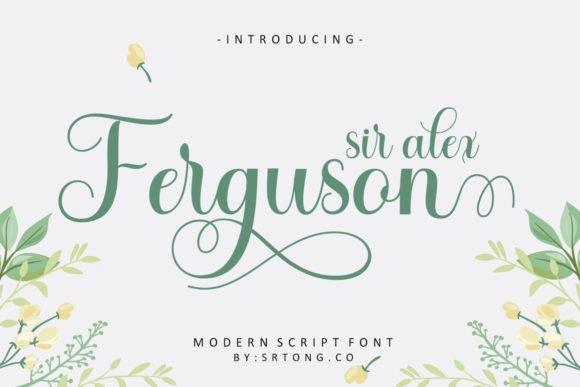 Sir Alex Ferguson Font