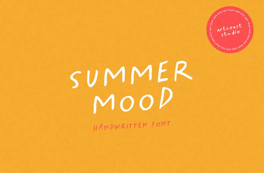 Summer Mood - Handwritten Font