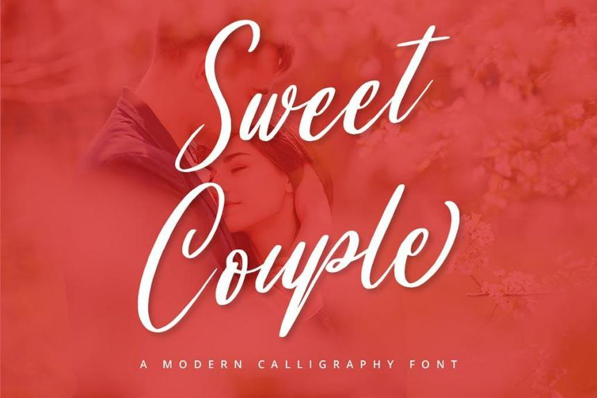 Sweet Couple Font