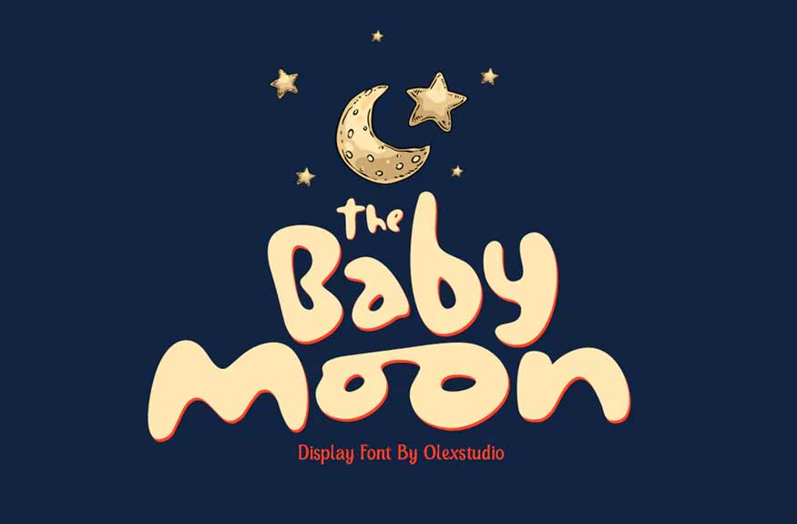 THE BABY MOON - Display