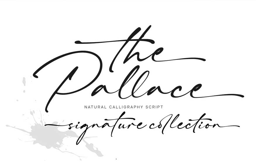 The Pallace Font