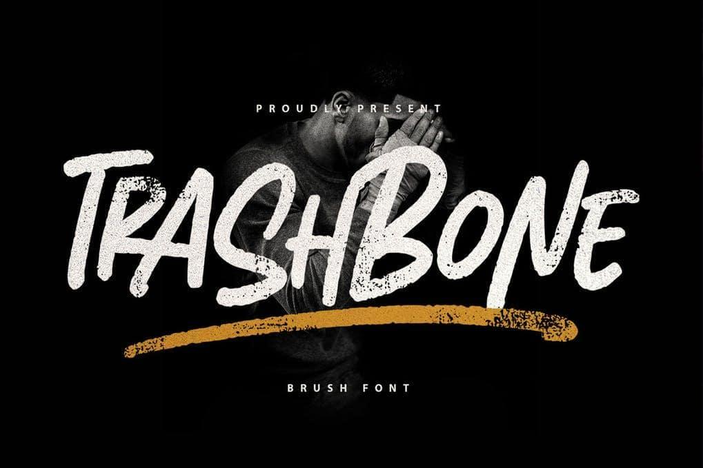 Trashbone Font