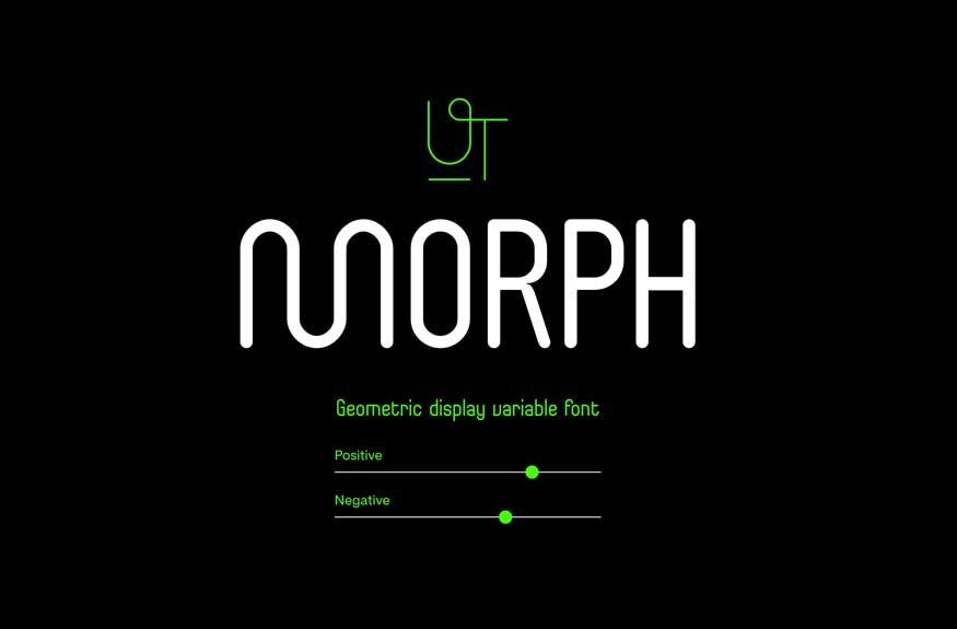UT Morph Typeface