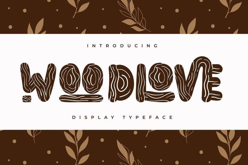 Woodlove | Display Typeface