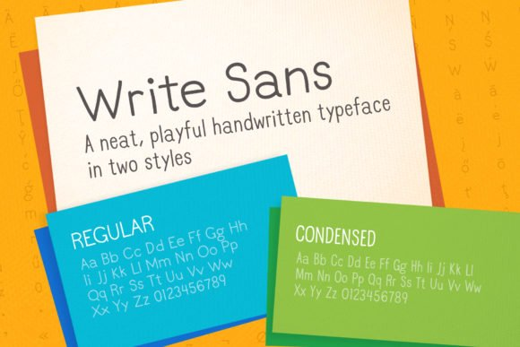 Write Sans Font