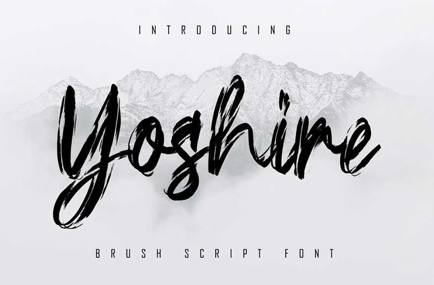 Yoshire Font