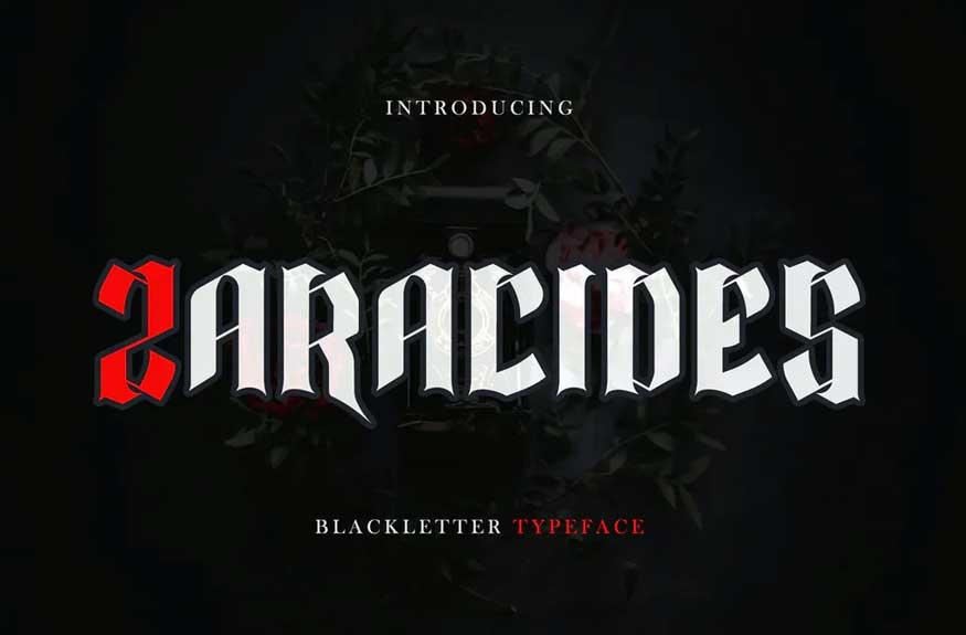 Zaracides - Blackletter DR