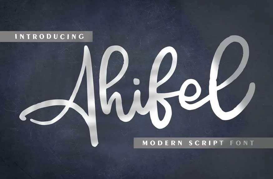 Ahifel Font