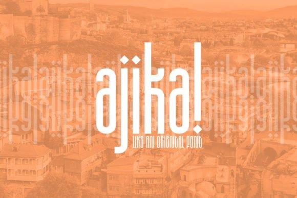 Ajika Font