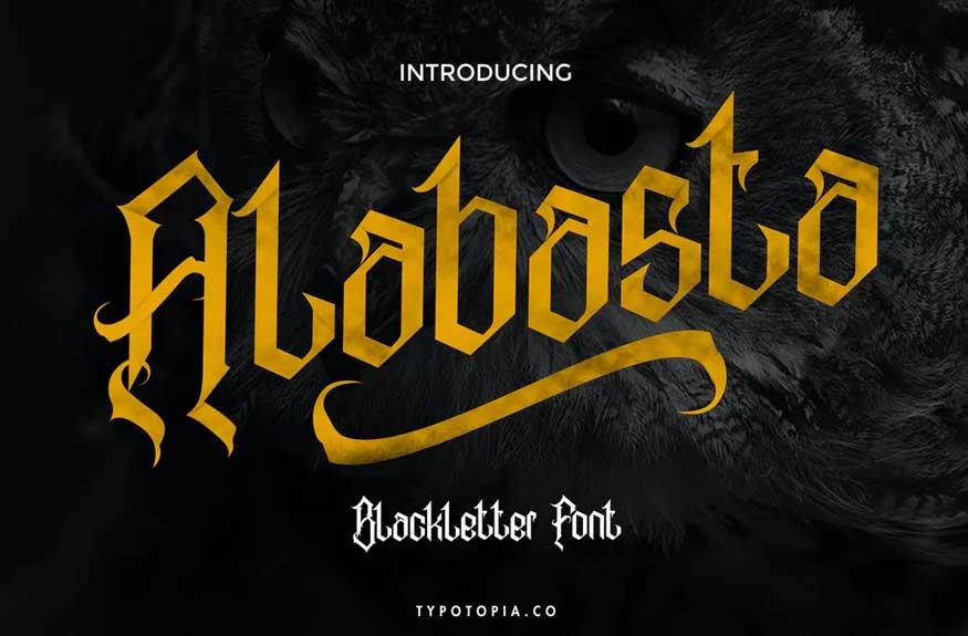 Alabasta Font