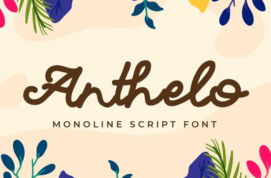Anthelo Font