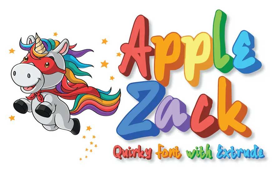 Applezack Font