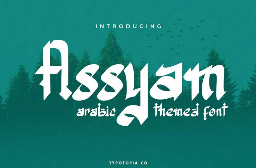 Assyam Font