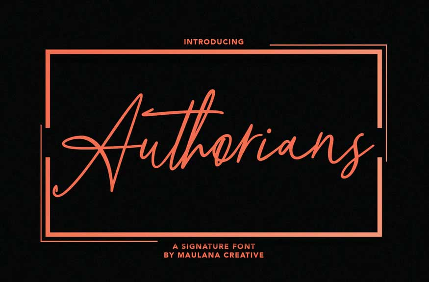 Authorians Font