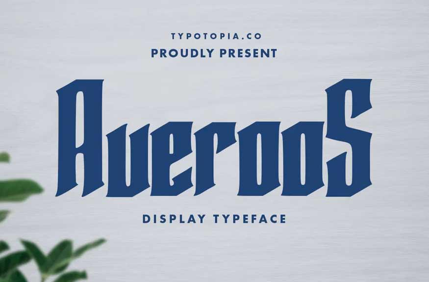 Averoos Font