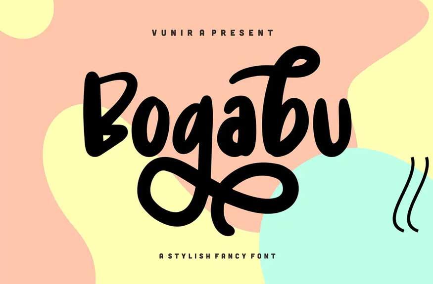 Bogabu Font