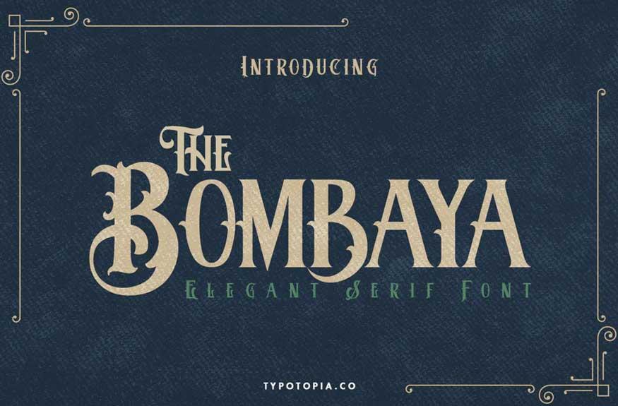 Bombaya Font