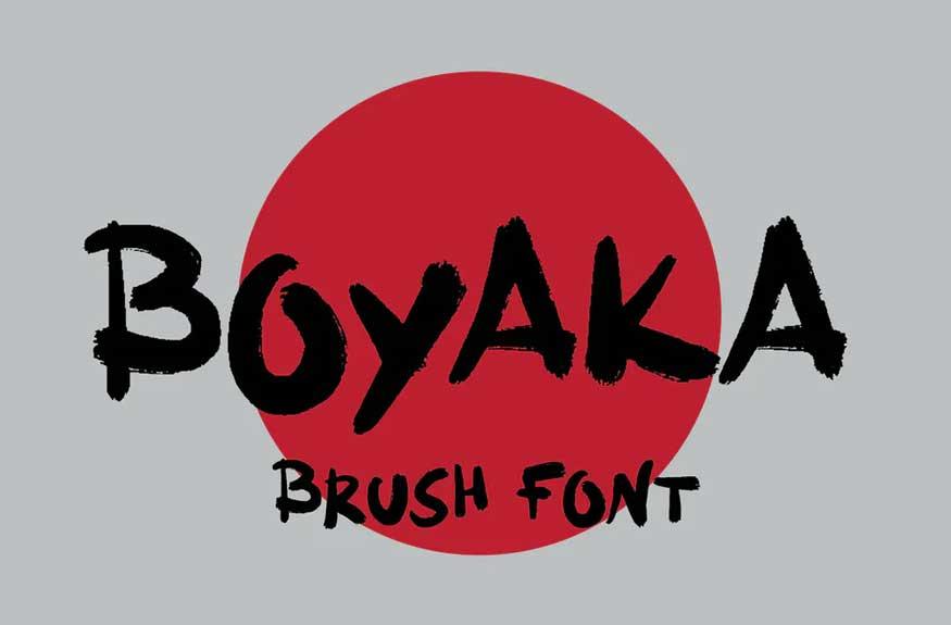 Boyaka Font