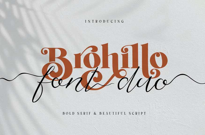 Brohillo Font Duo