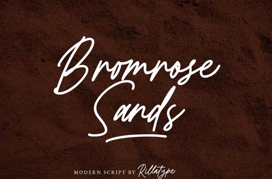 Bromrose Sands Font
