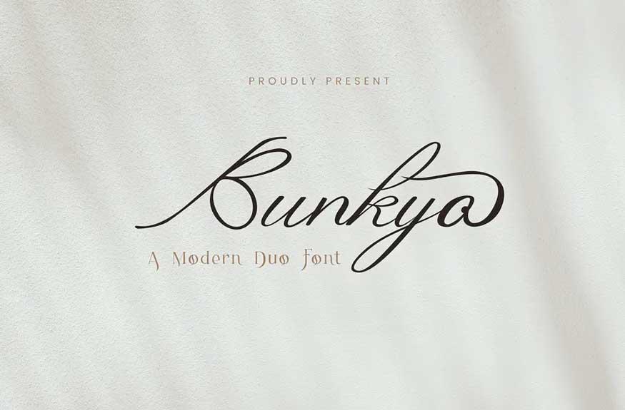 Bunkyo Font