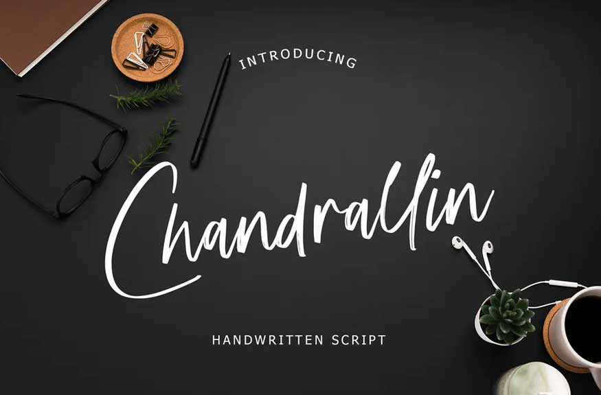 Chandrallin Handwritten Script