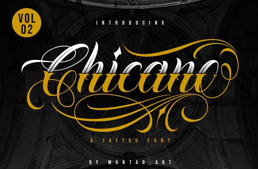 Chicano Vol. 02 Font