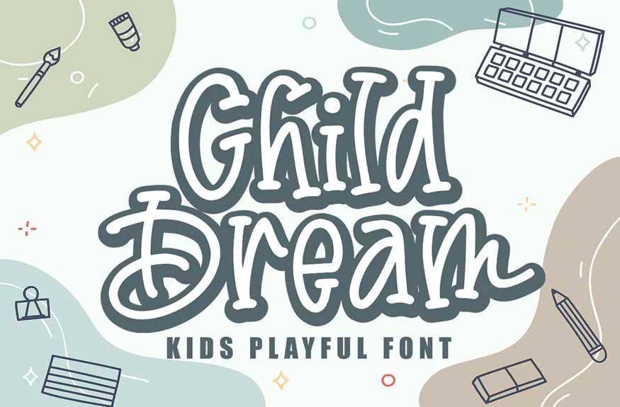 Child Dream Font