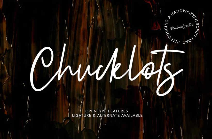 Chucklots Font