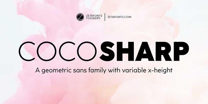 Coco Sharp Font Family