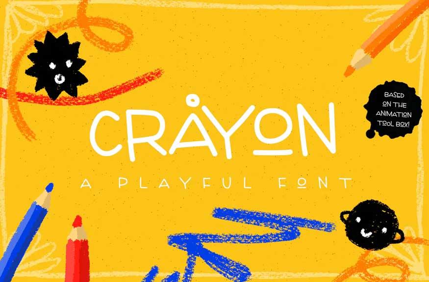 Crayon Font