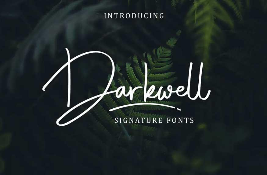 Darkwell Font
