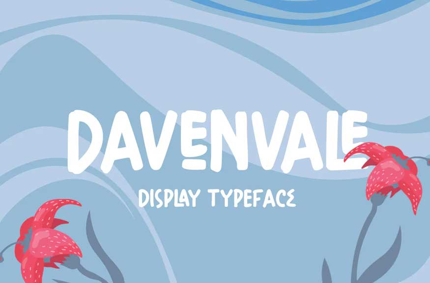 Davenvale Display Typeface