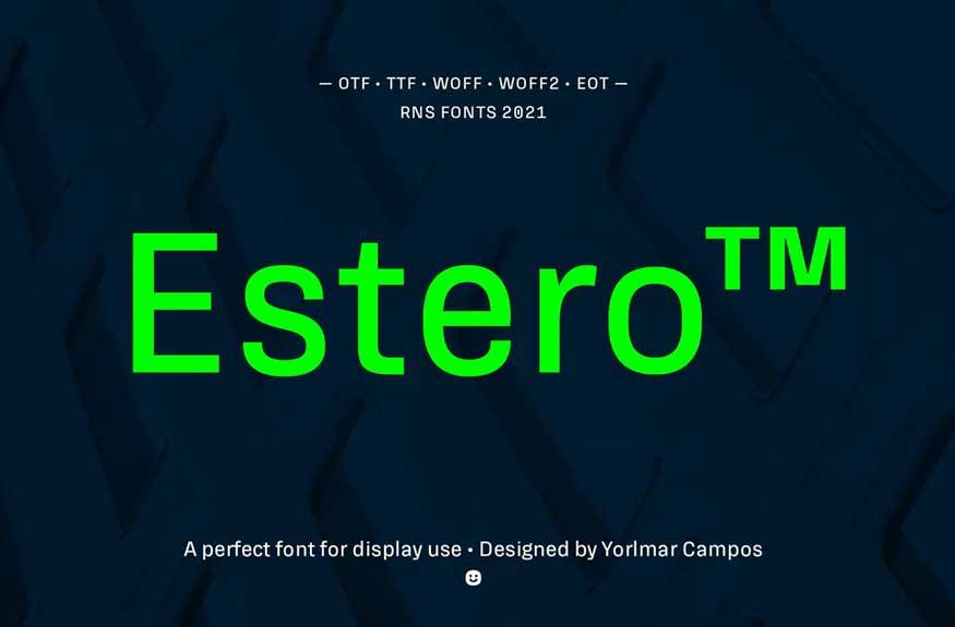 Estero Font