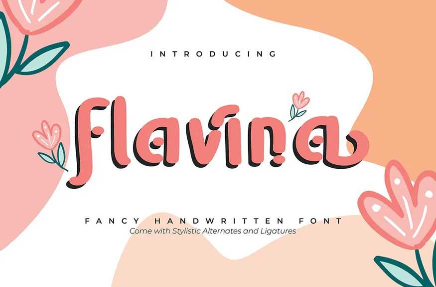 Flavina Font