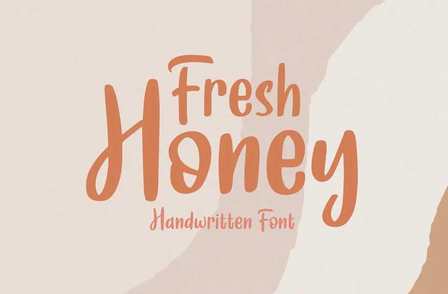 Fresh Honey Font