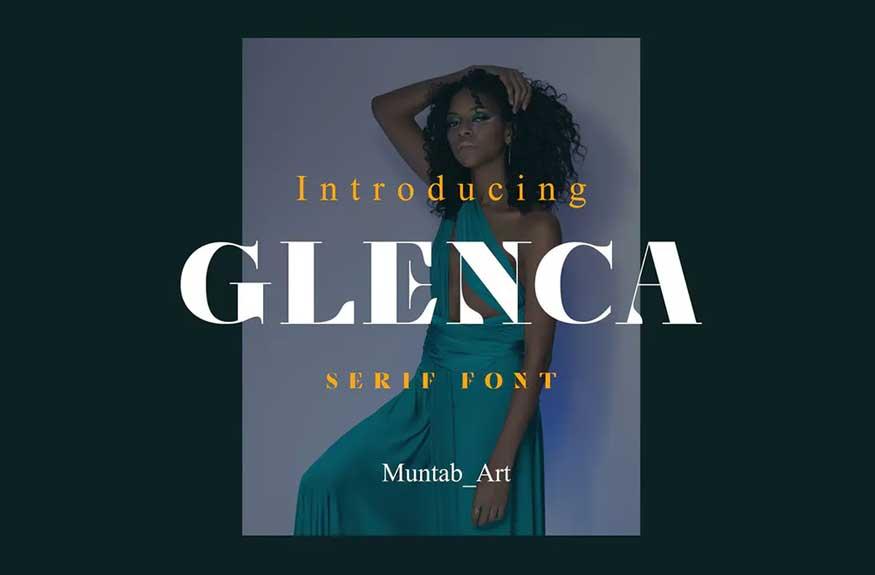 Glenca Font