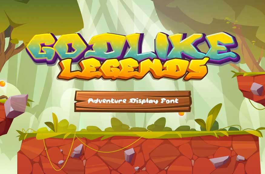 Godlikes Legend Font