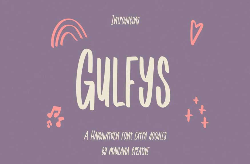 Gulfys Handwritten Font