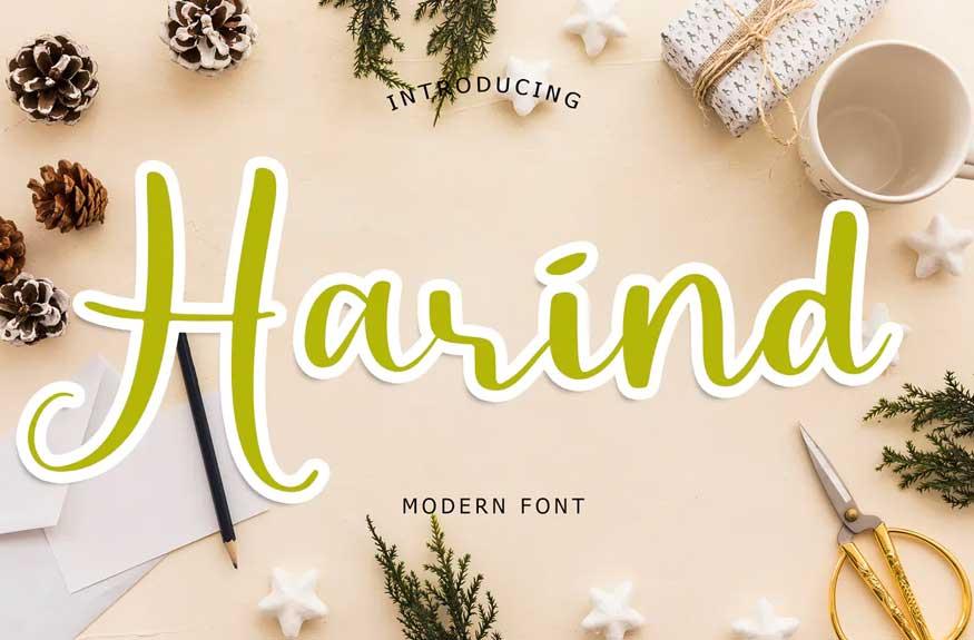 Harind Modern Font