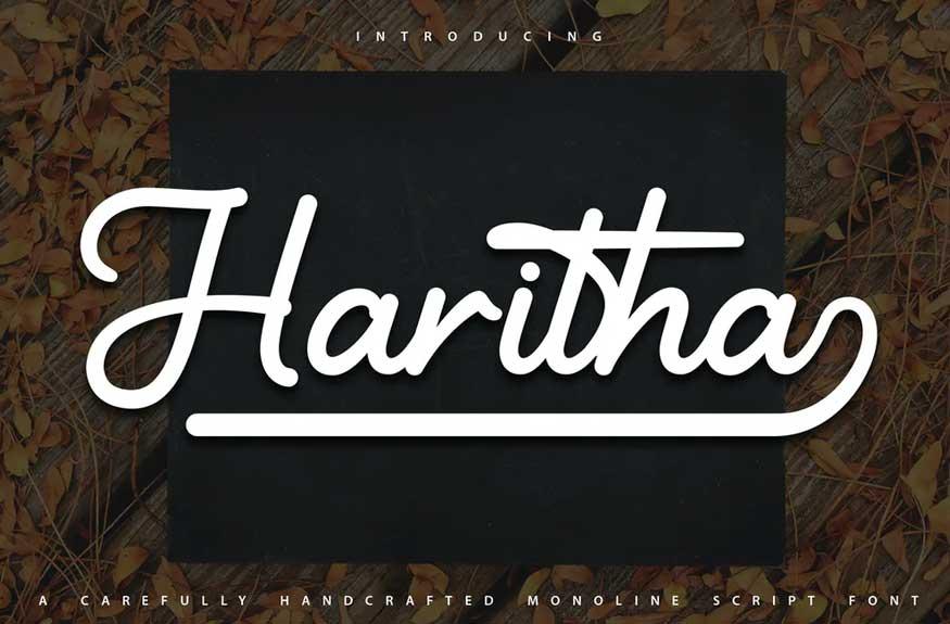 Haritha Font
