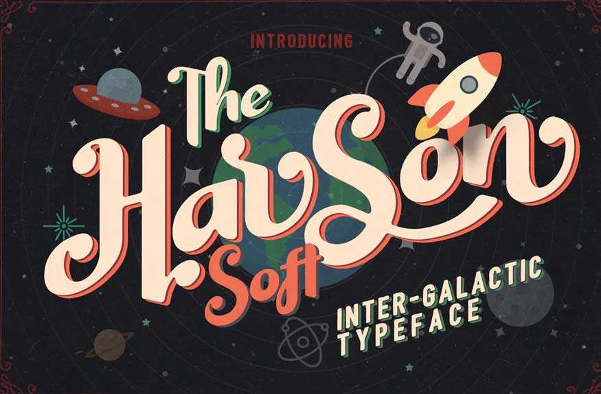 Harson Soft Font