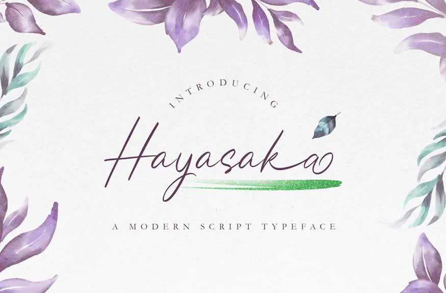 Hayasaka Font