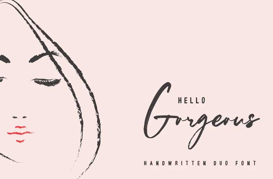 Hello Gorgeous Font