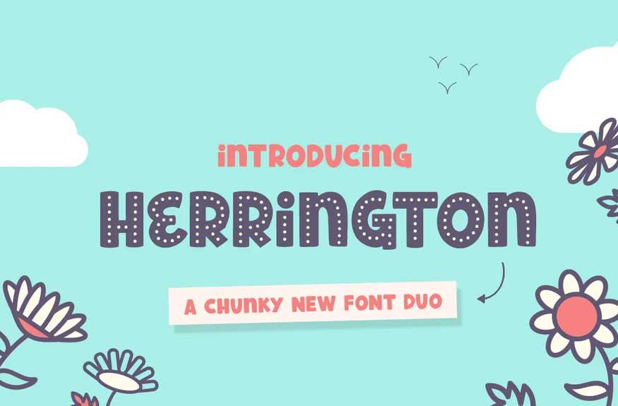 Herrington Font Duo