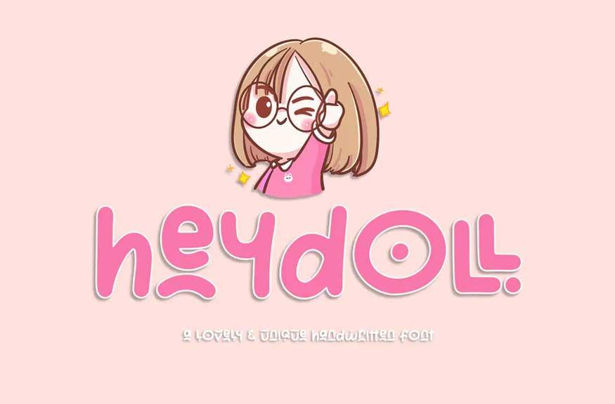 Heydoll Font